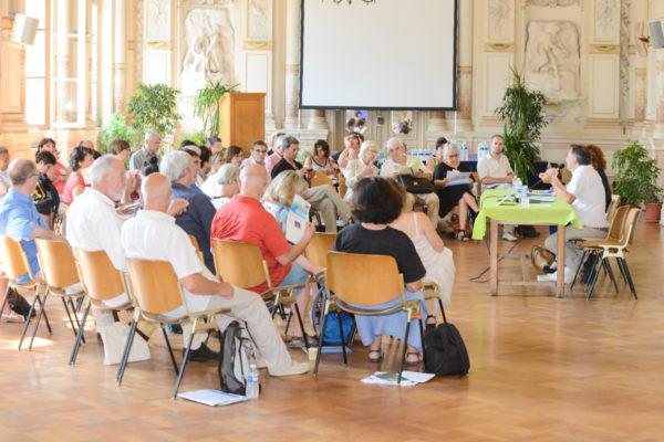 55ème assemblée générale de la FNCC, Avignon le 16 juillet 2015, photos Jean-Philippe WALLET, www.jpwallet-photo.com